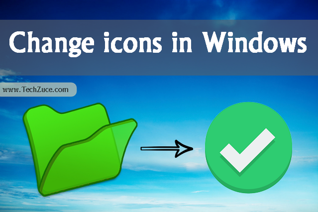 change icons in windows