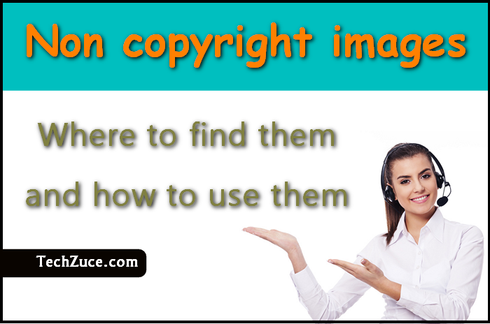 Non-copyright images for your own purposes, where to find them