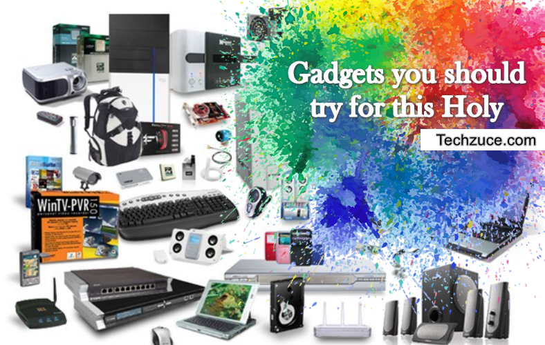 Buy cool and colourfull gadgets with upto great discount this holi