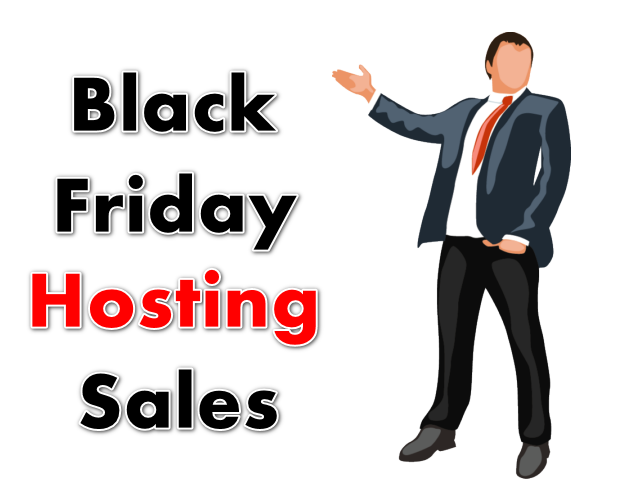 black friday hosting sales