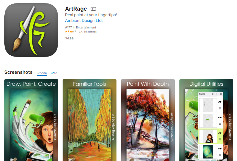 10 Adorable iPad drawing apps for Drawing and Painting sketches 2