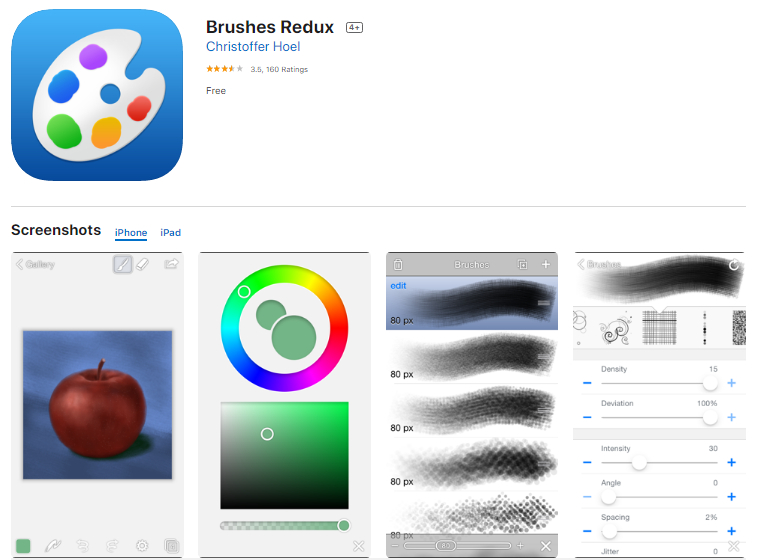 Description: Brushes 3 for iPad and iPhone