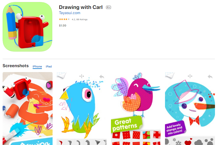 10 Adorable iPad drawing apps for Drawing and Painting sketches 4