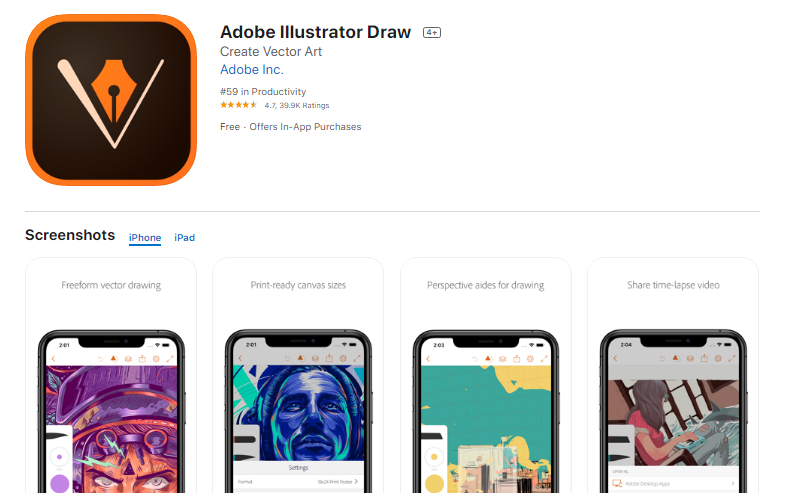 10 Adorable iPad drawing apps for Drawing and Painting sketches 1
