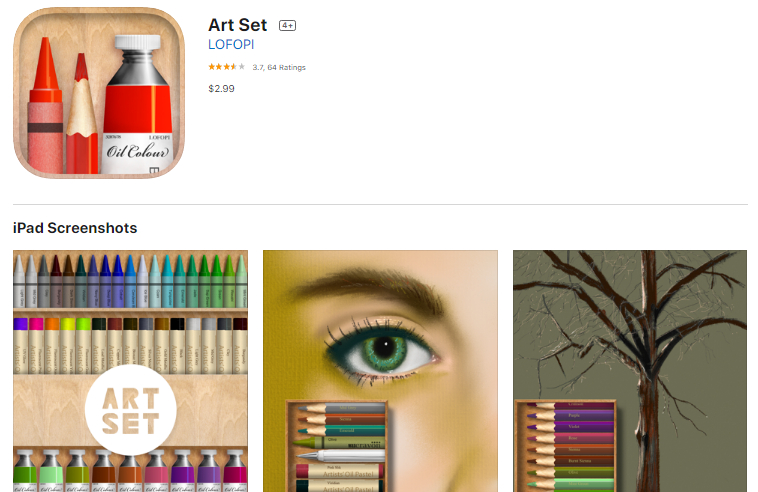 Description: Art Set - Pro Edition sketch app